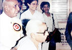 Mrs. Chandrakala Sahai with Dr. B.N.B. Rao